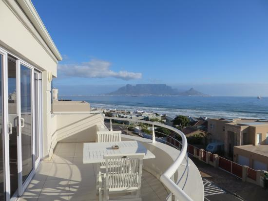 Bloubergstrand, Sudáfrica: View of table mountain, really nice