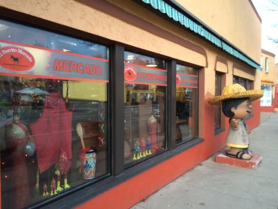 El Burrito Mercado لوحة