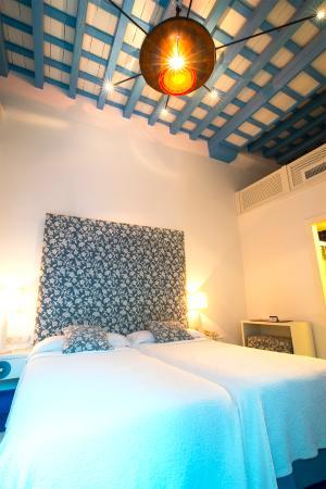 Casa Alborada: Habitación con dos camas
