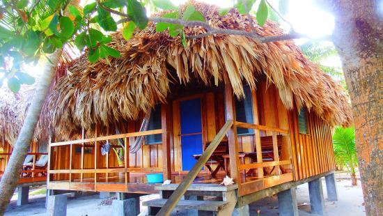 St. George's Caye Resort: Oceanfront cabana