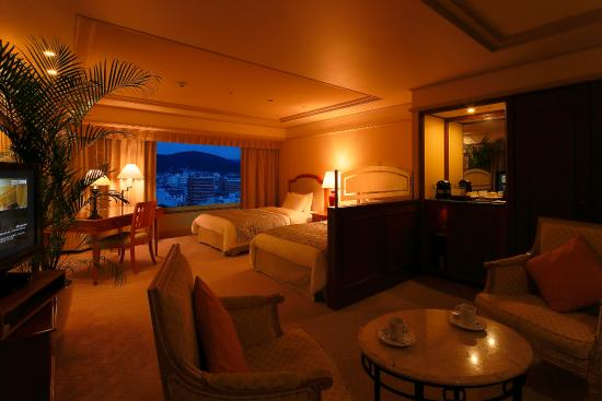 Hotel Nikko Princess Kyoto: Junior Suite Night