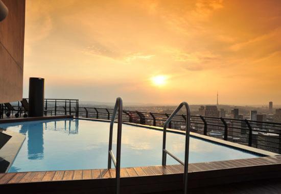 Braamfontein, Republika Południowej Afryki: Rooftop Pool