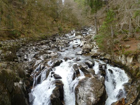 Dunkeld, UK: The falls that are worth the short walk