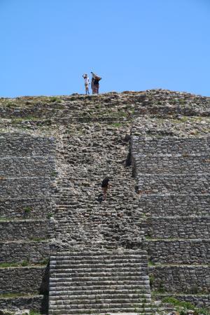 Izamal, México: Top of the world!