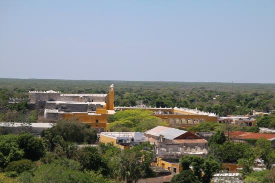 View of Izamal laid out at your feet