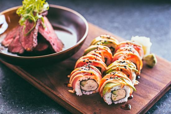 Tukwila, Waszyngton: Steak and Sushi