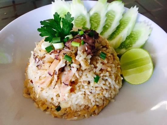 Mai Thai: riz sauté....