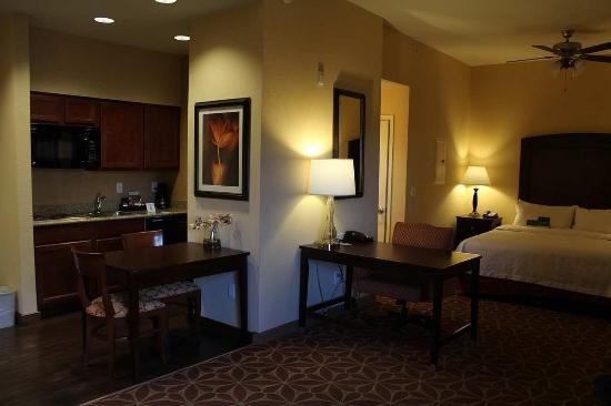 Accessible King Studio at the Homewood Suites Denver Tech Center in Englewood Colorado
