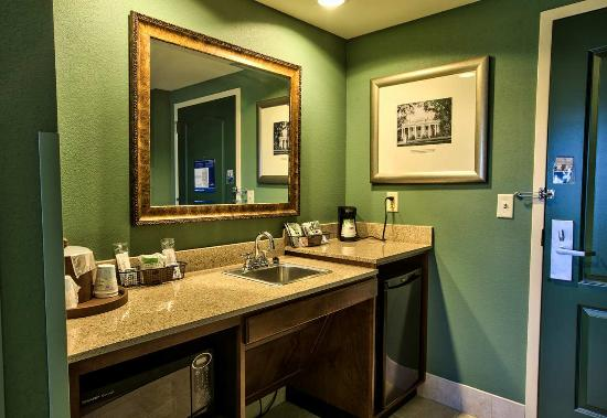 Hampton Inn & Suites Tallahassee I-10 - Thomasville Rd: Suite Wet Bar