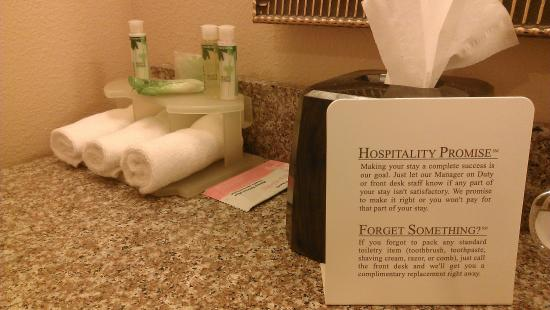 Marshall, TX: Bathroom Amenities