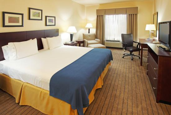 Holiday Inn Express & Suites Marshall: King Bed Guest Room