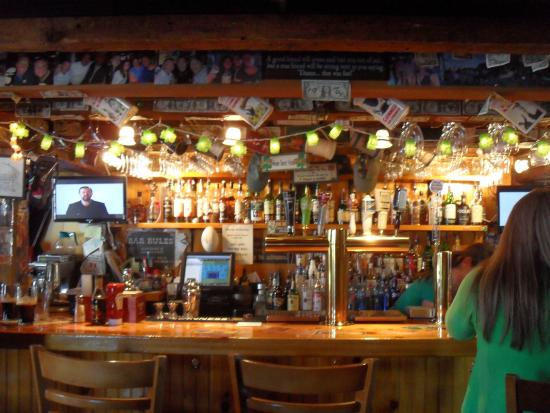Kennebunk, Μέιν: The bar area
