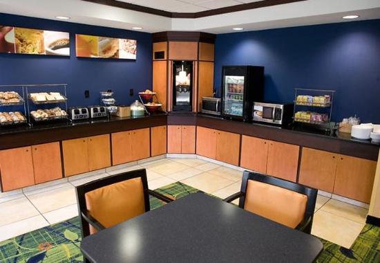 Wilkes Barre, Pensilvania: Breakfast Area