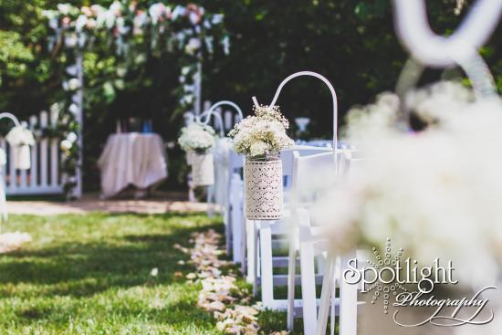 Gibsonville, NC: Garden Wedding