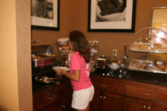 Alexander City, Алабама: Guest Eating Breakfast