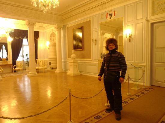 Nesvizh, Bielorrusia: Бальный зал в Несвижском замке