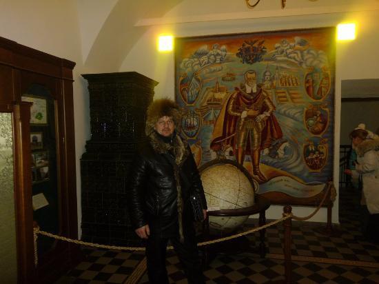 Nesvizh, Bielorrusia: Старинные картины в Несвижском замке