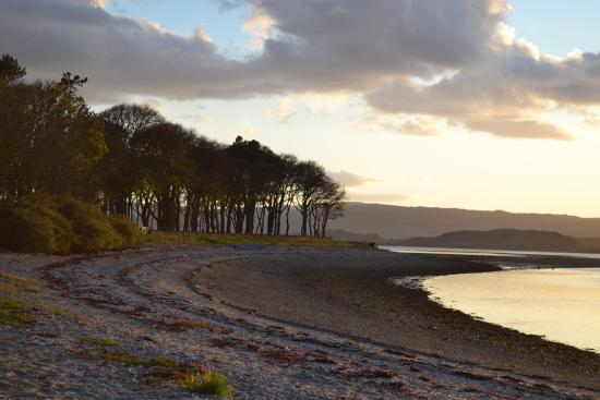Tighnabruaich, UK: view