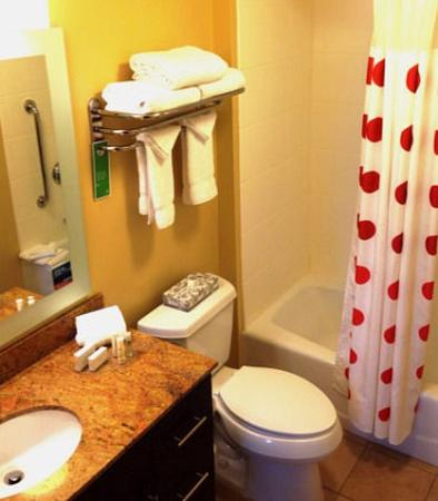 Easton, بنسيلفانيا: Guest Bathroom