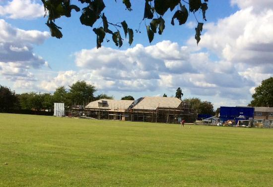 Henlow, UK: New Pavilion