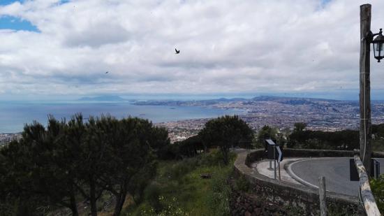 Panorama Del Golfo Di Napoli Foto Di Terrazza Due Golfi