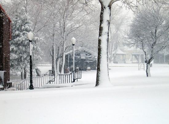 Elk City, OK: Ackley Park Snow