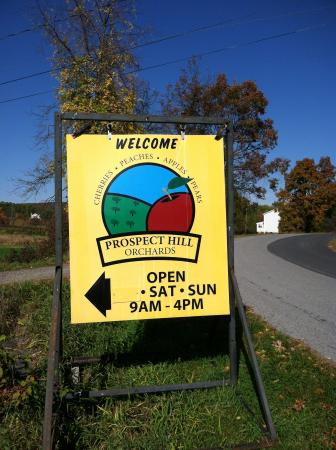 Milton, NY: Our Farm Sign