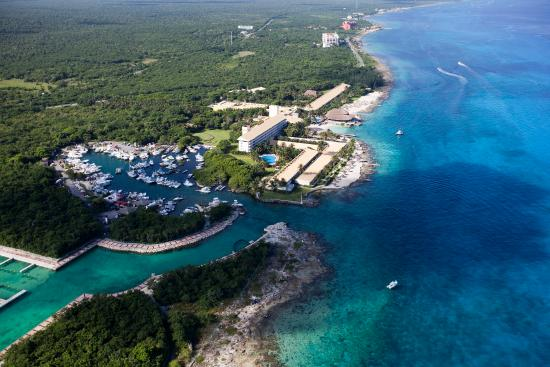 Presidente Inter-Continental Cozumel Resort & Spa: Aerial View