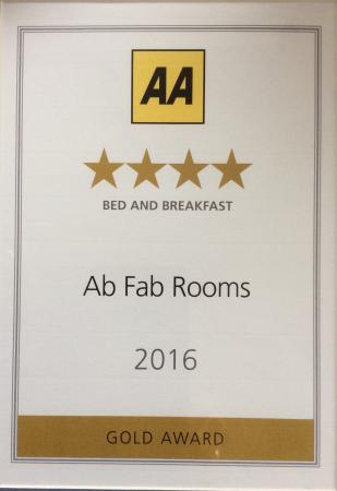 Bishopstone, UK: We are proud of our four stars...