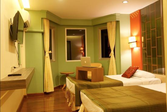 Golden House : room when we arrive