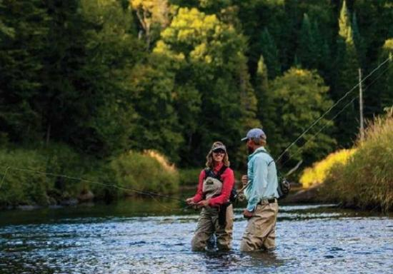 The Hungry Trout Resort: Fly Fishing with our Fly Shop!