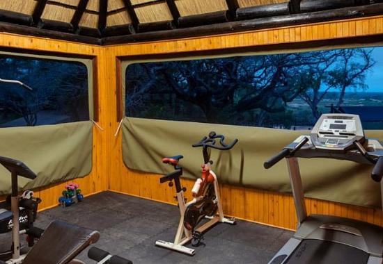 Skukuza, Afrika Selatan: Fitness Centre – Workout Room