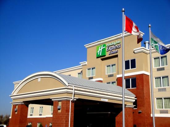 Fort Saskatchewan, Канада: Hotel Exterior