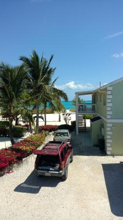 Aquamarine Beach Houses: View from our deck