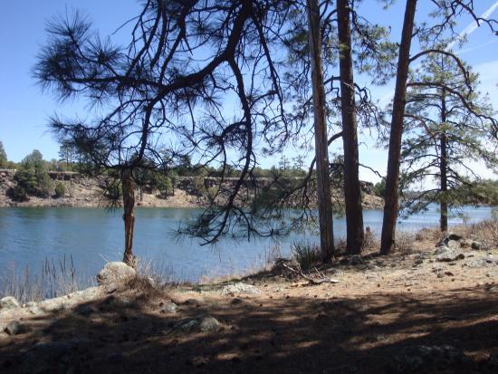 Show Low, AZ: lake