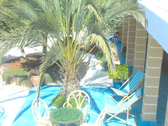 Hotel Villa Soleil : Terras