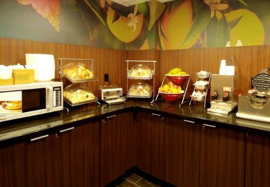 Fairfield Inn & Suites Atlanta Downtown : Breakfast Area