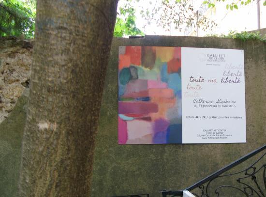 Gallifet Art Center: inviting
