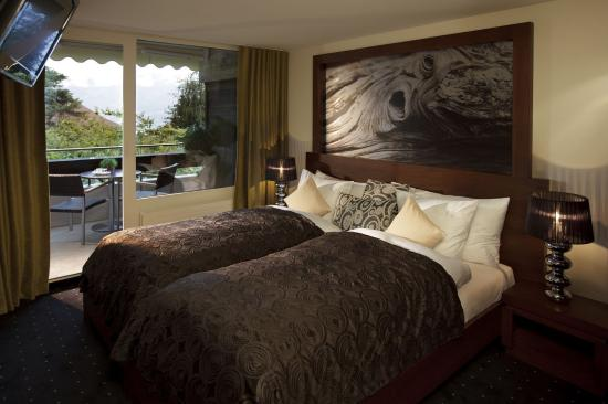 Sigriswil, Suiza: Double room Bären