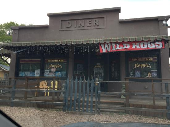 "Cedar Crest, Nuevo Mexico: Fake diner on the trail where ""Wild Hogs"" was filmed"