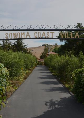 Bodega, Californië: Resort Entrance