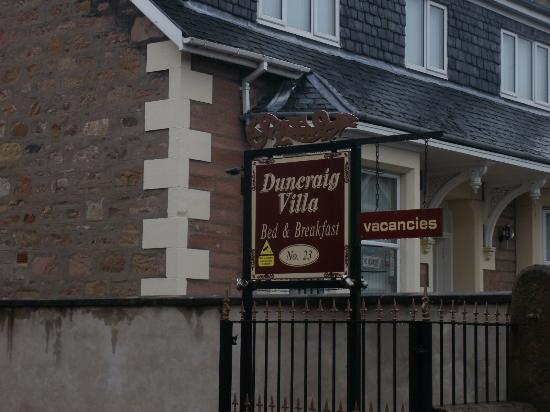 Duncraig Villa: Villa Sign