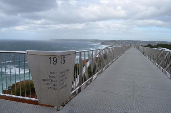 Newcastle, Australia: handrail