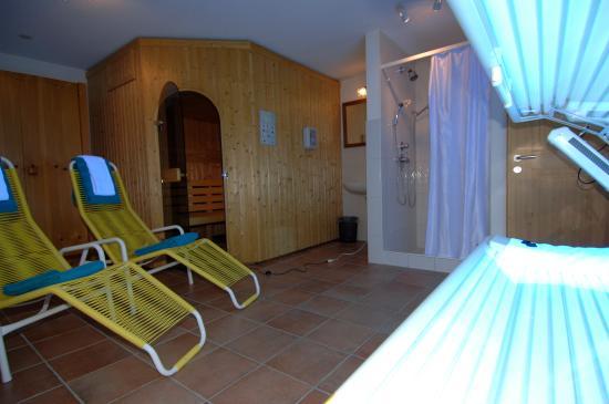 Hasliberg, Switzerland: Sauna/Solarium