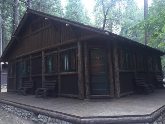 Ask For A Wooden Cabin With Bath Picture Of Half Dome