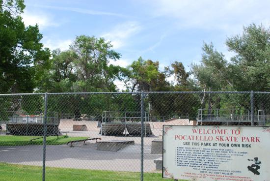 Area Attractions- Pocatello Skate Park