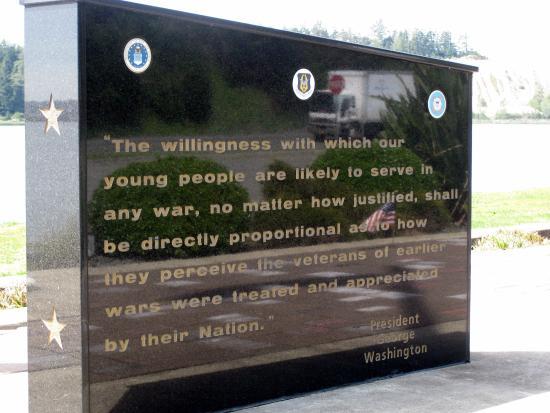 Dewitt Veterans Memorial, North Bend