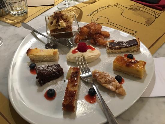 Artimino, Italia: Gran selezione di dolci