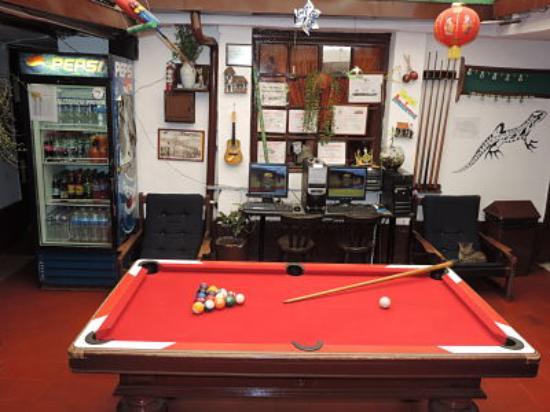 Hostal Aventureros de la Candelaria: Mesa de mini pool