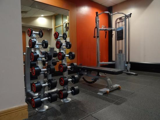 Awesome Gym Cleaning Station